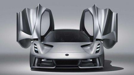 Lotus провёл презентацию электрического гиперкара Evija мощностью в 2000 л.с.