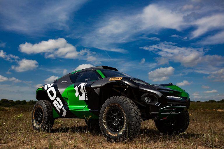 Extreme E презентовала новый гоночный электрокар